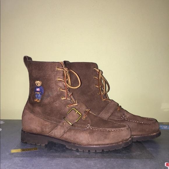 Polo Ralph Lauren Bear Ranger Boots